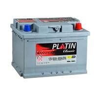 Автомобильный аккумулятор PLATIN Classic (60A/ч)/3524 PLATIN