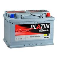 Автомобильный аккумулятор PLATIN Classic (75A/ч)/3525 PLATIN