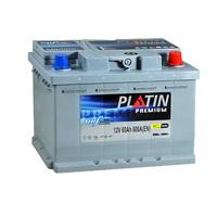 Автомобильный аккумулятор PLATIN Premium (60A/ч)/3527 PLATIN