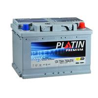 Автомобильный аккумулятор PLATIN Premium (75A/ч)/3528 PLATIN
