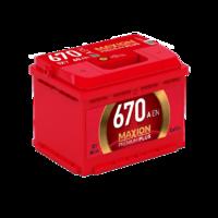 АКБ MAXION Premium Plus 6CT- 60Аз 670А R (8739)