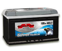 Автомобильный аккумулятор SZNAJDER Silver Premium (100A/ч)/3451 SZNAJDER