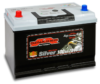 Автомобильный аккумулятор SZNAJDER Silver Jp (100A/ч)/3447 SZNAJDER