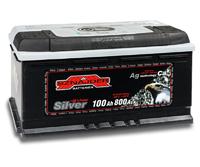 Автомобильный аккумулятор SZNAJDER Silver (100A/ч)/3437 SZNAJDER