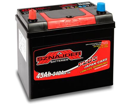 Автомобильный аккумулятор SZNAJDER Plus Jp(45A/ч)/3431