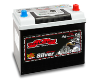 Автомобильный аккумулятор SZNAJDER Silver Jp (45A/ч)/3449 SZNAJDER
