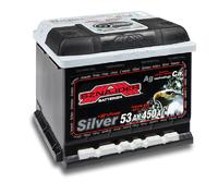 Автомобильный аккумулятор SZNAJDER Silver (53A/ч)/3446 SZNAJDER