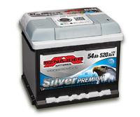 Автомобильный аккумулятор SZNAJDER Silver Premium (54A/ч)/3459 SZNAJDER