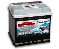 Автомобильный аккумулятор SZNAJDER Silver Premium (55A/ч)/3458 SZNAJDER