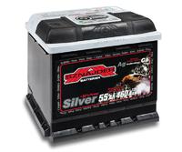 Автомобильный аккумулятор SZNAJDER Silver (55A/ч)/3445 SZNAJDER