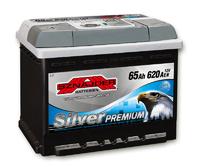 Автомобильный аккумулятор SZNAJDER Silver Premium (65A/ч)/3455 SZNAJDER