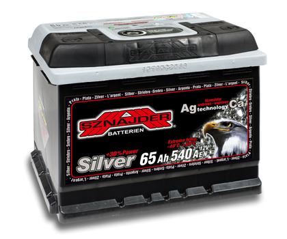 Автомобильный аккумулятор SZNAJDER Silver (65A/ч)/3442