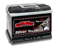 Автомобильный аккумулятор SZNAJDER Silver (70A/ч)/3441 SZNAJDER