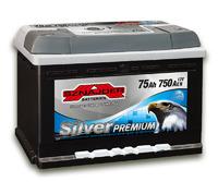 Автомобильный аккумулятор SZNAJDER Silver Premium (75A/ч)/3454 SZNAJDER