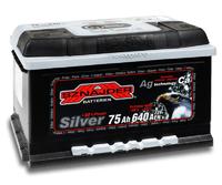 Автомобильный аккумулятор SZNAJDER Silver (75A/ч)/3440 SZNAJDER