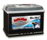Автомобильный аккумулятор SZNAJDER Silver Premium (80A/ч)/3453 SZNAJDER