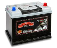 Автомобильный аккумулятор SZNAJDER Silver Jp (80A/ч)/3448 SZNAJDER