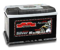 Автомобильный аккумулятор SZNAJDER Silver (80A/ч)/3439 SZNAJDER
