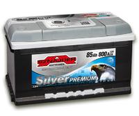 Автомобильный аккумулятор SZNAJDER Silver Premium (85A/ч)/3452 SZNAJDER