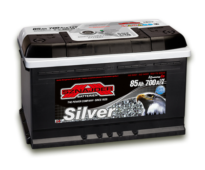 Автомобильный аккумулятор SZNAJDER Silver (85A/ч)/3438