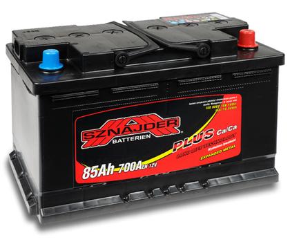 Автомобильный аккумулятор SZNAJDER Plus(85A/ч)/3421