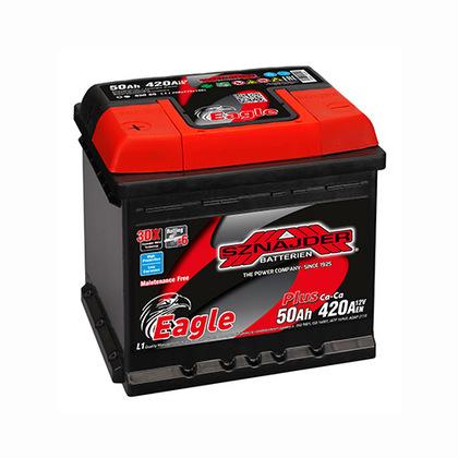 Автомобильный аккумулятор SZNAJDER Plus(50A/ч)/3425