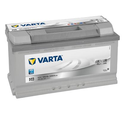 АКБ VARTA SILVER SD 6CT-100Aз R 600 402 083 H3(CZ)