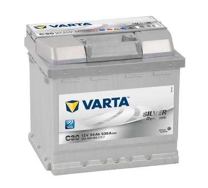 АКБ VARTA SILVER SD 6CT- 54Aз R 554 400 053 C30(CZ)