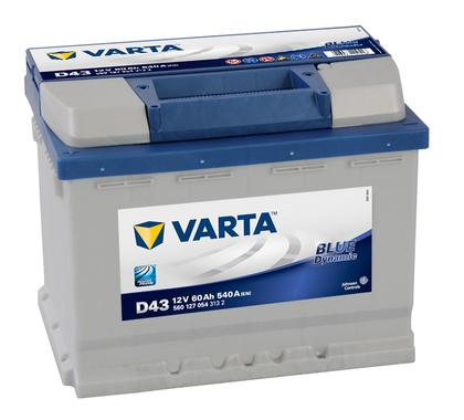 АКБ VARTA BD 6CT- 60Aз L 560 127 054 D43(CZ)