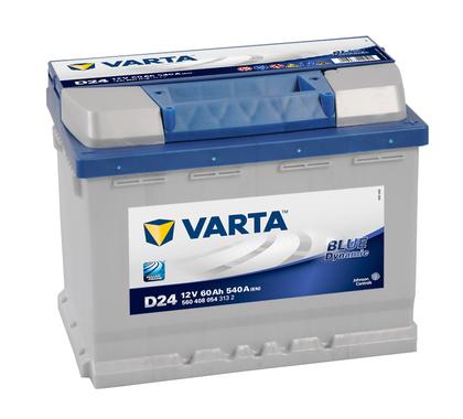 АКБ VARTA BD 6CT- 60Aз R 560 408 054 D24(CZ)