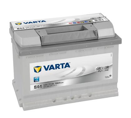 АКБ VARTA SILVER SD 6CT- 77Aз R 577 400 078 E44(CZ)