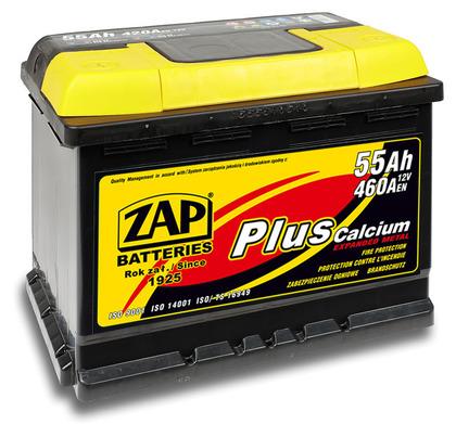 Автомобильный аккумулятор ZAP Plus (55A/ч)/3553