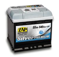 Автомобильный аккумулятор ZAP Silver Premium (55A/ч)/3576 ZAP