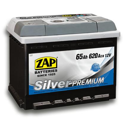 Автомобильный аккумулятор ZAP Silver Premium (65A/ч)/3578