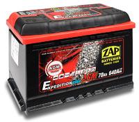 Автомобильный аккумулятор ZAP AGM Expedition (70A/ч)/3549 ZAP