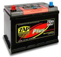 Автомобильный аккумулятор ZAP Plus Jp (70A/ч)/3562 ZAP