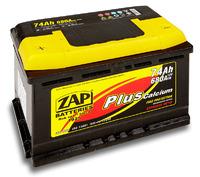 Автомобильный аккумулятор ZAP Plus (75A/ч)/3557 ZAP