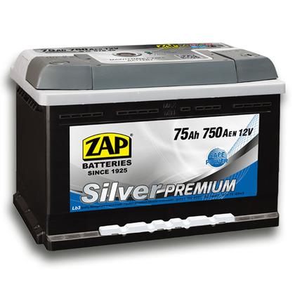 Автомобильный аккумулятор ZAP Silver Premium (75A/ч)/3579