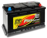 Автомобильный аккумулятор ZAP Plus (85A/ч)/3558 ZAP