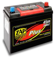Автомобильный аккумулятор ZAP Plus Jp (45A/ч)/3560 ZAP