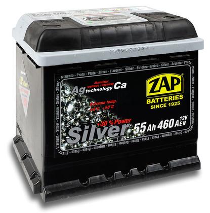 Автомобильный аккумулятор ZAP Silver (55A/ч)/3569