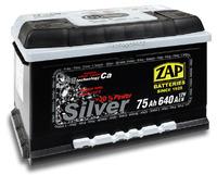 Автомобильный аккумулятор ZAP Silver (75A/ч)/3573 ZAP