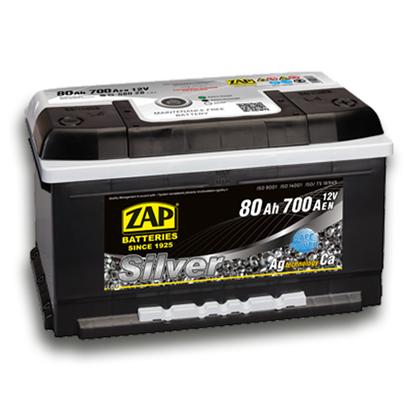 Автомобильный аккумулятор ZAP Silver (80A/ч)/3574